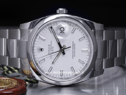 Rolex Date 115200 Oyster Bracelet White Dial