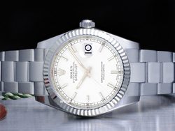 Rolex Datejust Medio Lady 31 178274 Oyster Quadrante Bianco