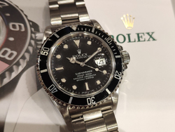 Rolex Submariner Data 168000 Transizionale Quadrante Nero