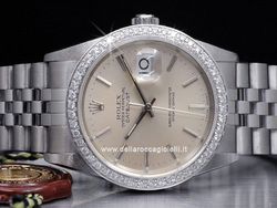 Rolex Datejust Ghiera Diamanti 16234