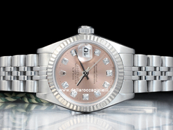 Rolex Datejust Lady 69174 Jubilee Quadrante Rosa Diamanti