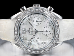 Omega Speedmaster Automatic Lady 38357036 Quadrante Bianco Arabi