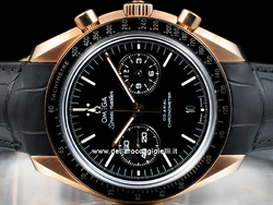 Omega Speedmaster Moonwatch Co-Axial 31163445101001 Oro Rosa Quadrante Nero