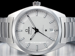 Omega Constellation Globemaster Co-Axial Master Chronometer 13030392102001 Quadrante Argento