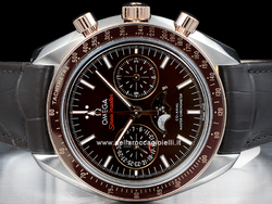 Omega Speedmaster Moonwatch Moonphase Co-Axial Master Chronometer Chronograph 30423445213001 Quadrante Marrone