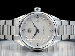 Tag Heuer Carrera Lady WAR1314 Quadrante Madreperla Diamanti