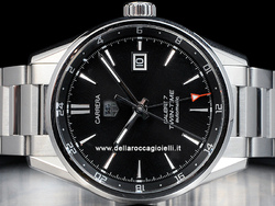 Tag Heuer Carrera Twin Time Calibre 7 WAR2010 Quadrante Nero