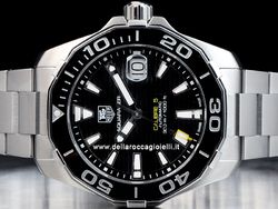 Tag Heuer Aquaracer Calibre 5 WAY211A Quadrante Nero
