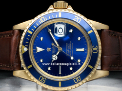Rolex Submariner Data 1680 Quadrante Blu Nipple