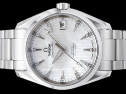 Omega Seamaster Aqua Terra 150M Co-Axial 23110392155001 Quadrante Madreperla Diamanti