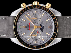 Omega Speedmaster Moonwatch Fasi Lunari Co-Axial Master Chronometer 30423445206001 Quadrante Grigio
