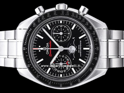 Omega Speedmaster Moonwatch Fasi Lunari Co-Axial Master Chronometer 30430445201001 Quadrante Nero