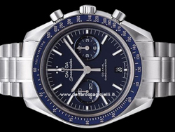 Omega Speedmaster Moonwatch Co-Axial Chronograph 31190445103001 Quadrante Blu
