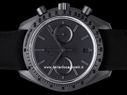 Omega Speedmaster Moonwatch Black Black Co-Axial Chronograph 31192445101005 Quadrante Nero