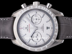 Omega Speedmaster Moonwatch Grey Side Of The Moon Co-Axial Chronograph 31193445199001 Quadrante Grigio