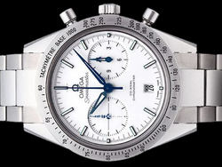 Omega Speedmaster 57 Co-Axial Chronograph 33190425104001 Quadrante Bianco