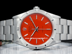 Rolex Air-King 34 Oyster Quadrante Rosso 14010