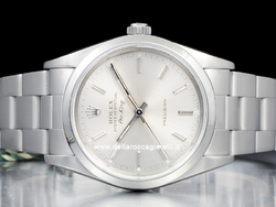 Rolex Air-King 34 Oyster Quadrante Argento 14000