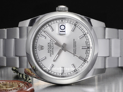 Rolex Datejust 126200 Oyster Bracelet Silver Dial