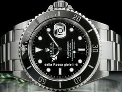 Rolex Submariner Data 16610 SEL Quadrante Nero Ghiera Ceramica