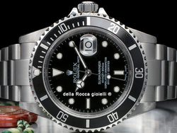 Rolex Submariner Data 16610T Quadrante Nero