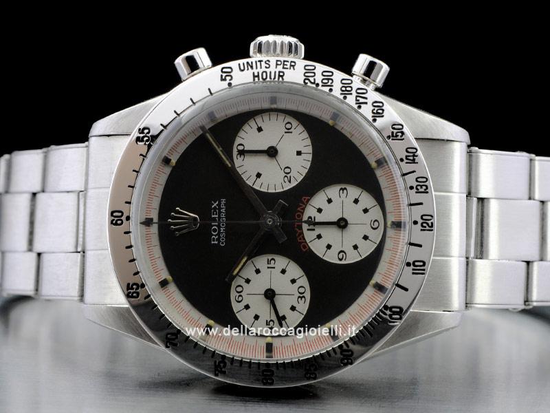 Rolex Daytona Paul Newman Stainless Steel Watch Ref. 6239