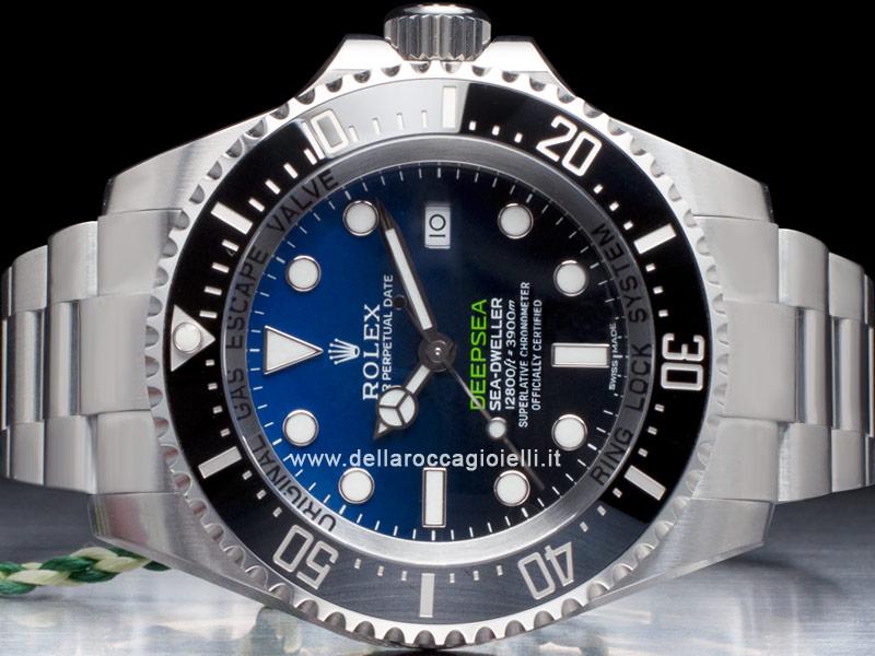l'ultimo 58bbd f8e66 Rolex Sea-Dweller DEEPSEA 126660 D-Blue Dial :: Della Rocca ...