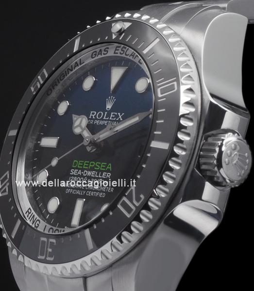 97e6f8c5f28 Rolex Sea-Dweller DEEPSEA 126660 D-Blue Dial    Della Rocca Gioielli