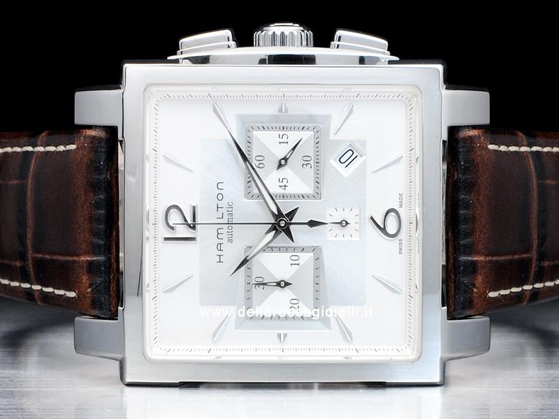 Omega Watch Price >> Hamilton Jazzmaster Square Chronograph H326660 White Dial ...