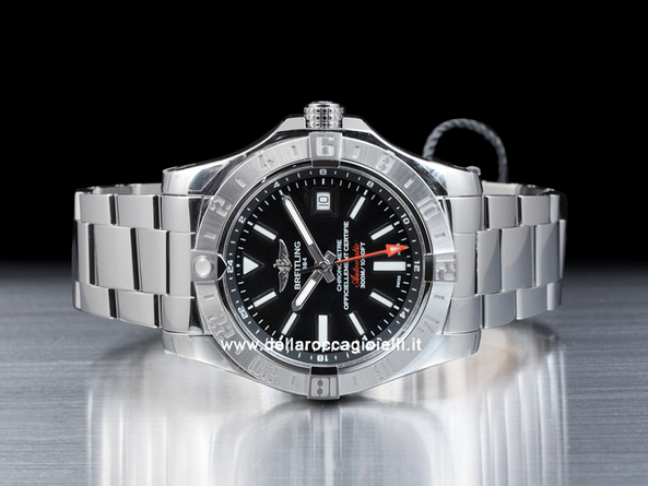 lowest price a6ab5 09c16 Breitling Avenger II Gmt Stainless Steel Watch A3239011 ...