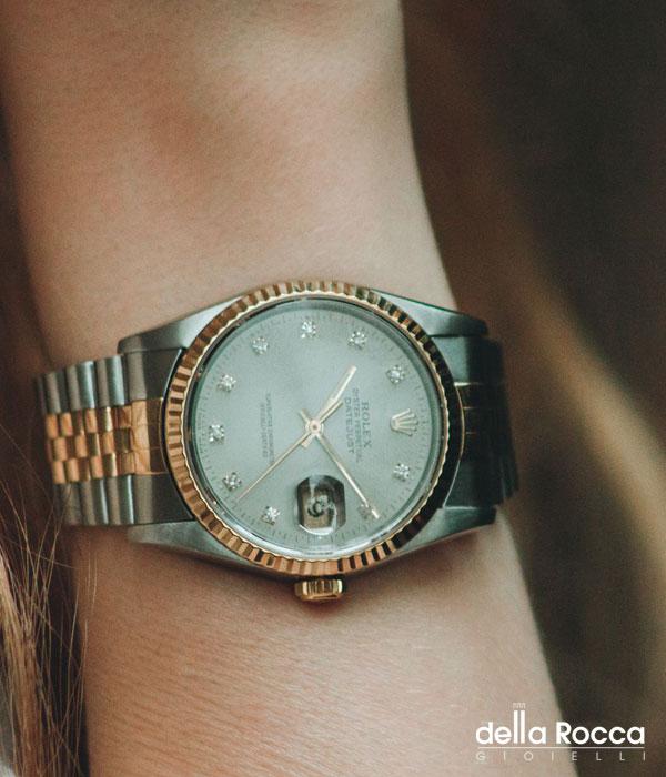 Rolex Acciaio ed Oro